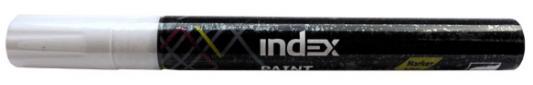Маркер лаковый Index IPM100/WH белый  IPM100/WH