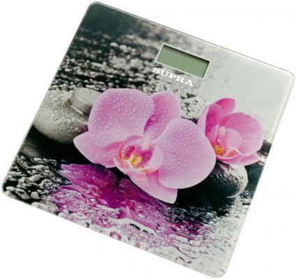 Весы напольные Supra BSS-2001 рисунок розовый йогуртница supra ygs 7001 розовый белый