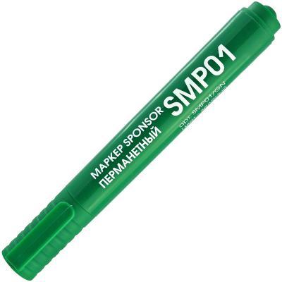 Маркер SPONSOR SMP01/GN 2 мм зеленый
