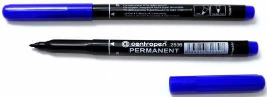 Маркер перманентный Centropen 2636/1С 0.6 мм синий