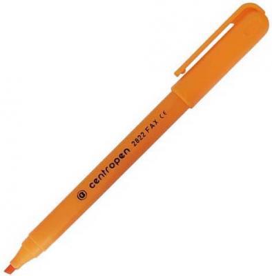 Маркер флуоресцентный Centropen 2822/1О 1 мм оранжевый  2822/1О