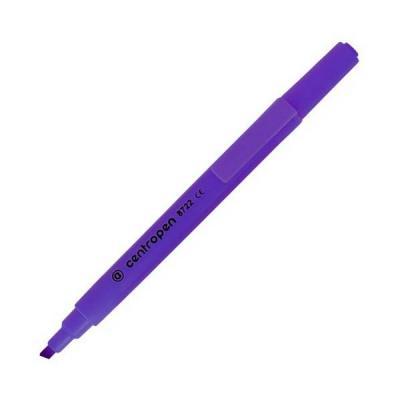 Маркер флуоресцентный Centropen 8722/1Ф фиолетовый