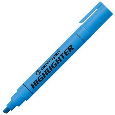 Маркер флуоресцентный Centropen 8852/1С синий 8852/1С ковры seintex ford mondeo 2007 высокий борт
