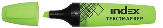 Текстмаркер Index IMH505/GN 1 мм салатовый