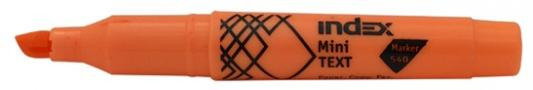 Текстмаркер Index МИНИ 1 мм оранжевый IMH540/OR IMH540/OR