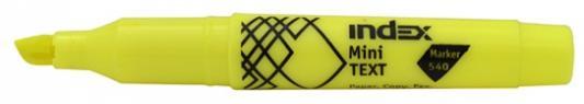 Текстмаркер Index МИНИ 1 мм желтый IMH540/YL IMH540/YL