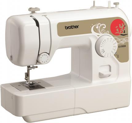 Швейная машина Brother LS5555 белый швейная машинка brother ls5555