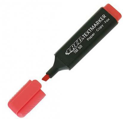Текстмаркер Laco TM 50 1 мм красный 2614013