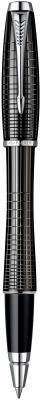 Ручка-роллер Parker Urban Premium T204 Ebony Metal Chiselled черный хромированные детали, F S0911490
