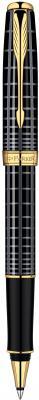 Ручка-роллер Parker Sonnet T531 Dark Grey Laquer GT черный позолоченные детали, F S0912460