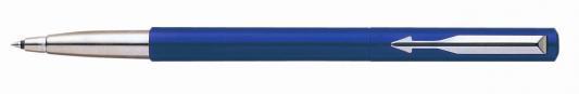 Ручка-роллер Parker Vector Blue S0705340 с деталями из нержавеющей стали