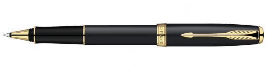 Ручка-роллер Parker Sonnet Matte Black GT S0817970 позолоченные детали