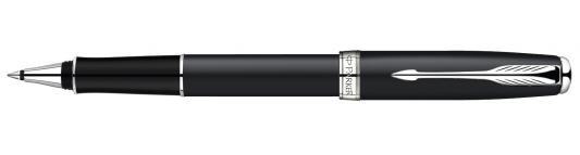 Купить Ручка-роллер Parker Sonnet Matte Black CT S0818110 хромированные детали