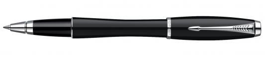 Ручка-роллер Parker Urban London Cab Black CT черный S0850490 хромированные детали, F