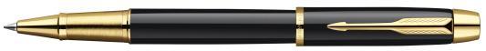 Ручка-роллер Parker IM Black GT черный позолоченные детали, S0856360, F