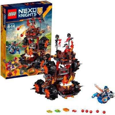 Конструктор Lego Нексо Роковое наступление Генерала Магмара 516 элементов 70321