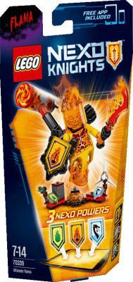 Конструктор Lego Нексо Флама - Абсолютная сила 67 элементов 70339