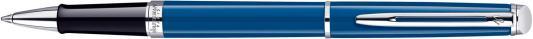 Ручка-роллер Waterman HEMISPHERE черный посереб. детали, F, WAT-1904600 WAT-1904600