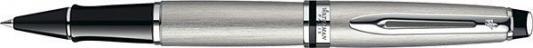 Ручка-роллер Waterman EXPERT Stainless Steel CT черный 0.4 мм WAT-S0952080 WAT-S0952080