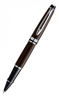 Ручка-роллер Waterman EXPERT Deep Brown CT черный 0.4 мм WAT-S0952260 WAT-S0952260