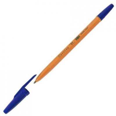 Шариковая ручка Universal CORVINA 51 синий 0.1 мм 40163-G/С
