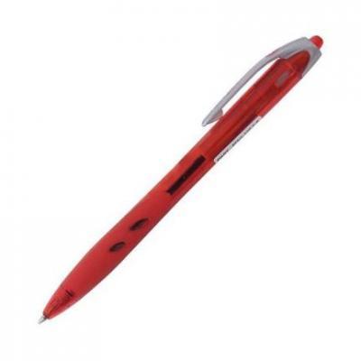 Шариковая ручка автоматическая Pilot REXGRIP красный 0.3 мм BPRG-10R-F-R