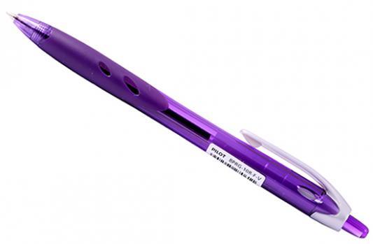 Шариковая ручка автоматическая Pilot REXGRIP фиолетовый 0.7 мм BPRG-10R-F-V