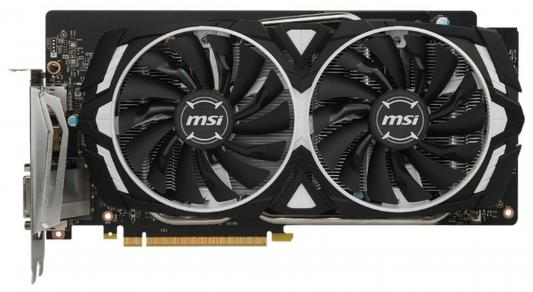 Видеокарта MSI GeForce GTX 1060 GTX 1060 ARMOR 6G OC PCI-E 6144Mb 192 Bit Retail
