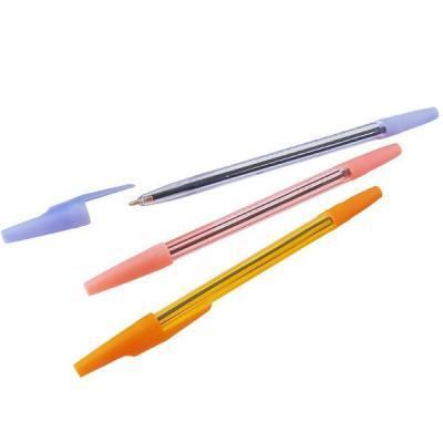 Шариковая ручка СТАММ РШ 511 синий 0.7 мм РК10 ассорти РК10