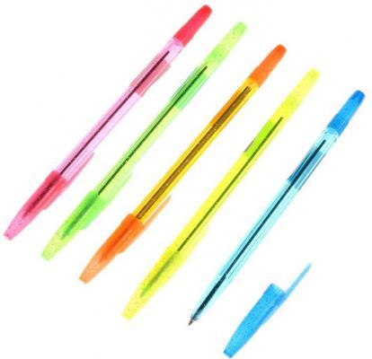 Шариковая ручка СТАММ 511 синий 0.7 мм РК25