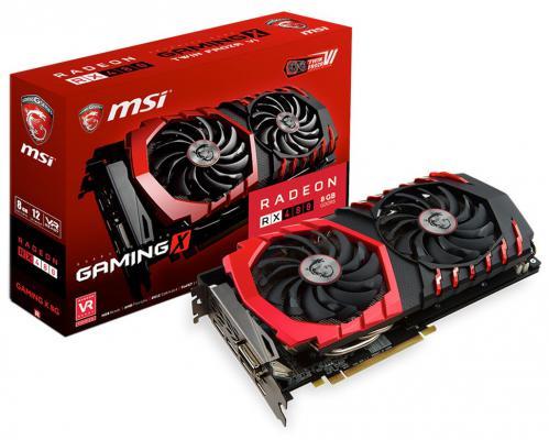 Видеокарта 8192Mb MSI RX 480 GAMING X PCI-E HDMI DPx3 HDCP RADEON RX 480 Gaming X 8G Retail
