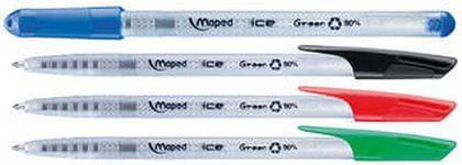 Шариковая ручка Maped Green Ice зеленый 0.6 мм 224433 224433