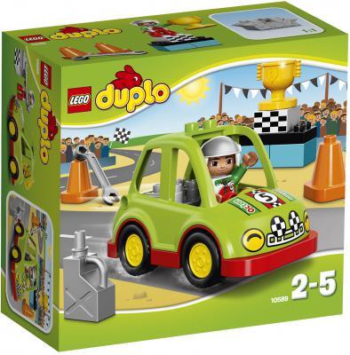 Конструктор Lego Дупло Гоночный автомобиль 13 элементов 10589