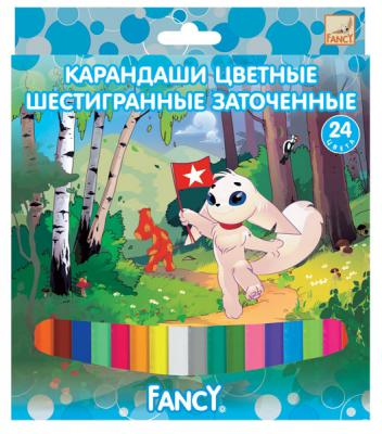 Набор цветных карандашей Action! Fancy 24 шт FCP101-24