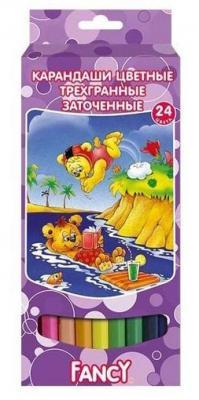 Набор цветных карандашей Action! Fancy 24 шт FCP401-24 цена в Москве и Питере