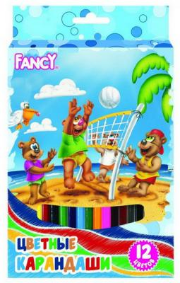 Набор цветных карандашей Action! Fancy 12 шт утолщенные FCP421-12 FCP421-12 action набор цветных карандашей 12 цветов