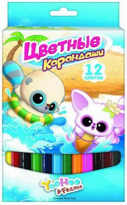 Набор цветных карандашей Action! Yoohoo 12 шт утолщенные YH-ACP115-12 YH-ACP115-12 оловоотсос yihua yh x16