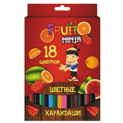 Набор цветных карандашей Action! Fruit Ninja 18 шт FN-ACP205-18 FN-ACP205-18