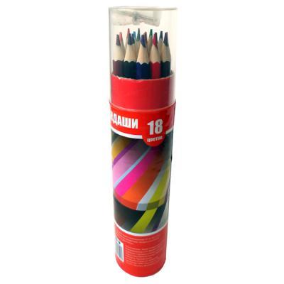 Набор цветных карандашей Action! ACP103-18 18 шт ACP103-18 набор для праздника action русалка 18 см 10 шт api0119