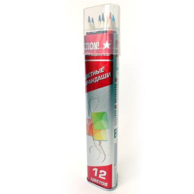 Набор цветных карандашей Action! ACP303-12 12 шт
