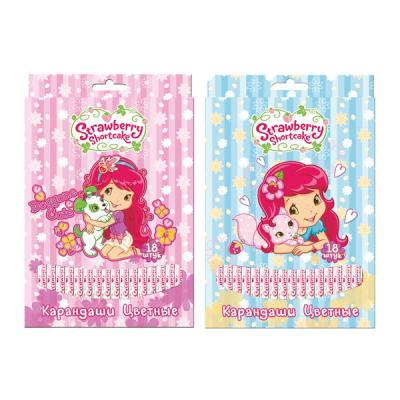 Набор цветных карандашей Action! Strawberry Shortcake 18 шт SW-ACP205-18 юбка strawberry witch lolita sk