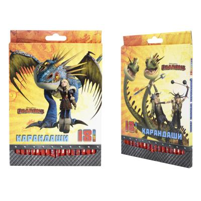 Набор цветных карандашей Action! Dragons 18 шт DR-ACP205-18 DR-ACP205-18 набор цветных карандашей action strawberry shortcake 6 шт sw acp205 06 sw acp205 06