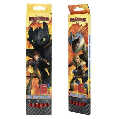 Набор цветных карандашей Action! Dragons 6 шт DR-ACP205-6 DR-ACP205-6