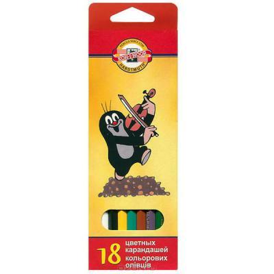 Набор цветных карандашей Koh-i-Noor КРОТ 18 шт 3653/18 26KS 3653/18 26KS