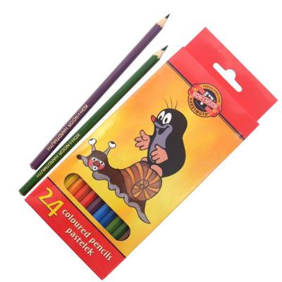 Набор цветных карандашей Koh-i-Noor КРОТ 24 шт 3654/24 26KS 3654/24 26KS цена 2017
