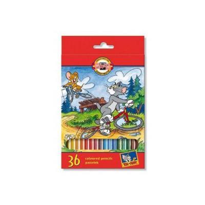 Набор цветных карандашей Koh-i-Noor ТОМ И ДЖЕРРИ 36 шт 17.5 см 3655/36 23KS 3655/36 23KS