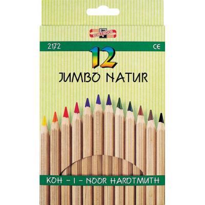 Набор цветных карандашей Koh-i-Noor JUMBO NATUR 12 шт 2172N/12 2172N/12