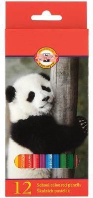 Набор цветных карандашей Koh-i-Noor Животные 12 шт 3552/12 8 KS