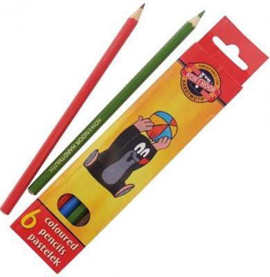 Набор цветных карандашей Koh-i-Noor Крот 6 шт односторонние 3651/6 26KS 3651/6 26KS
