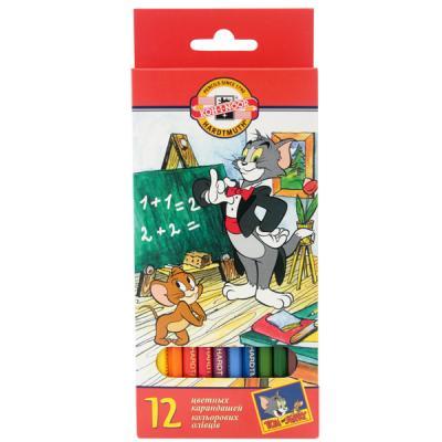Набор цветных карандашей Koh-i-Noor ТОМ И ДЖЕРРИ 12 шт 17.5 см 3652/12 23KS